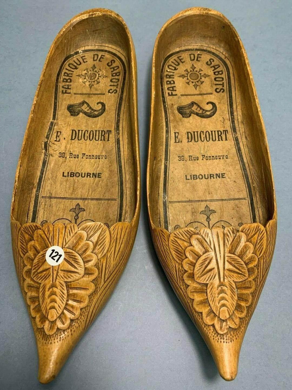 Sabots fabriqués par Ducourt à Libourne